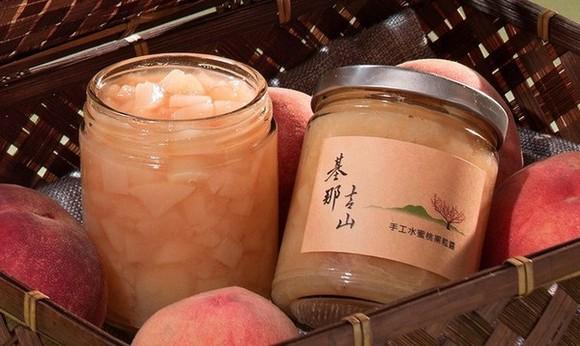 【超越團GO】基那吉山-手工水蜜桃果粒醬 團購開催! 已售完